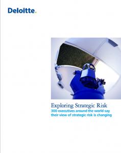 Deloitte 2013 Report: Exploring Strategic Risk